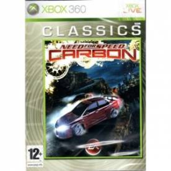 Need For Speed Carbon Game (Classics) Xbox 360