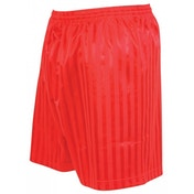 Precision Striped Continental Football Shorts 38-40 inch Red