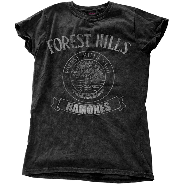 Ramones - Forest Hills Vintage Women's Small T-Shirt - Black