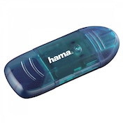 Hama USB 2.0 Card Reader SD Blue