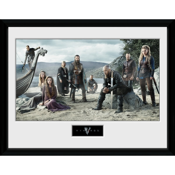 Vikings Beach Collector Print