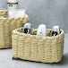 Woven Rope Storage Baskets - Set of 3 M&W Natural - Image 4
