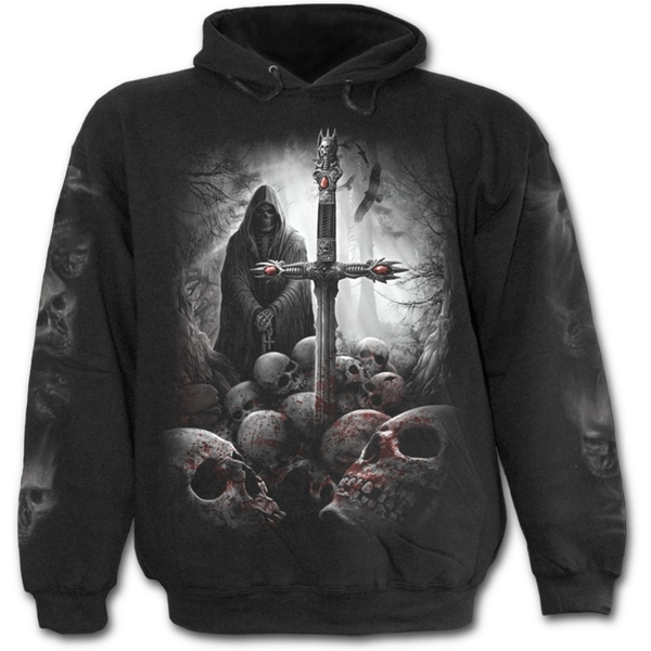 Soul Searcher Men's Medium Hoodie - Black