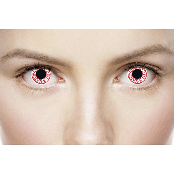 Crackhead 1 Day Halloween Coloured Contact Lenses (MesmerEyez XtremeEyez) - Image 2