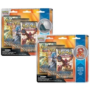 Pokemon TCG Volcanion & Gardevoir Collectors Pins 3 pack