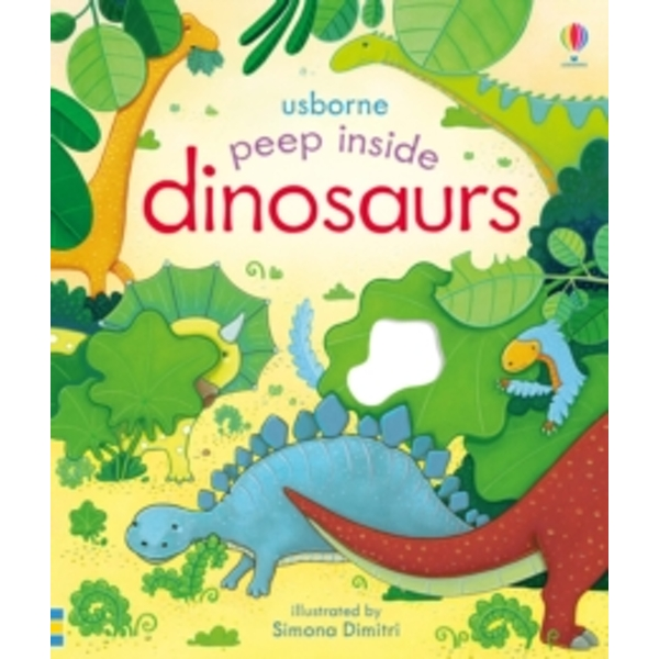 Peep Inside Dinosaurs by Anna Milbourne (Board book, 2015)