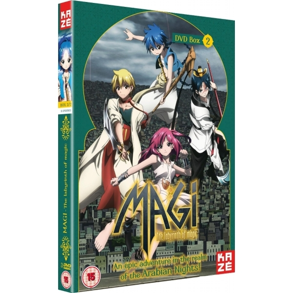 Magi - The Labyrinth Of Magic: Season 1 - Part 2 DVD