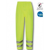 Black Knight X-Large Viking High Visibility Breathable Over Trousers - Yellow