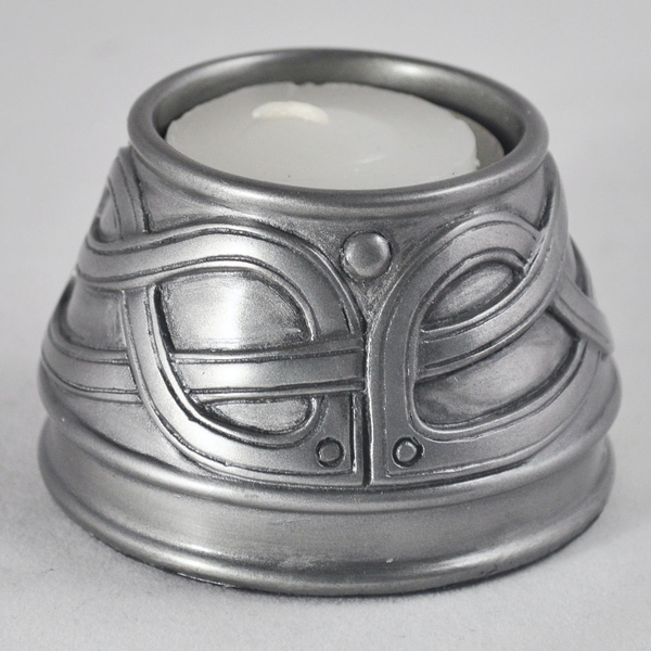 Celtic Candle Holder Silver (Medium)