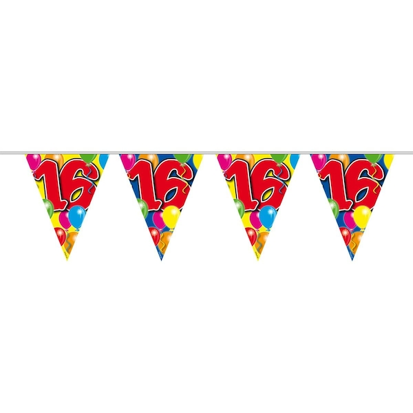16th Birthday Balloons Garland Party Decoration