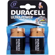 Duracell Ultra Power D Size 2 Pack MX1300B2