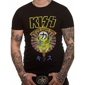 Kiss - Hotter Than Hell Japan Men's Large T-Shirt - Black