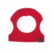 NINTENDO Super Mario Bros. Red Mushroom Cuffless Beanie