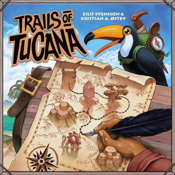 Trails of Tucana Board Game