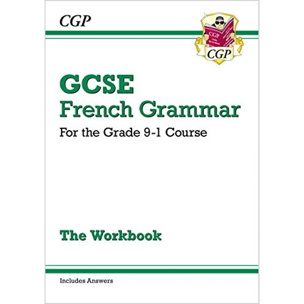 New GCSE French Grammar Workbook - for the Grade 9-1 Course (Includes Answers) by CGP Books (Paperback, 2017)