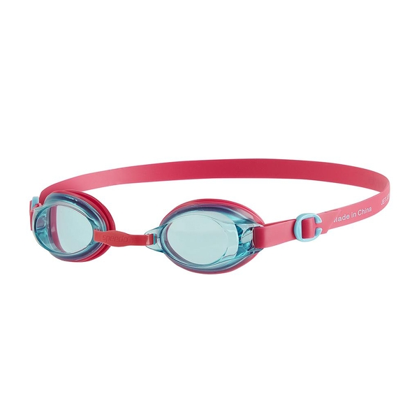 Speedo Jet Goggles Pink/Blue Junior