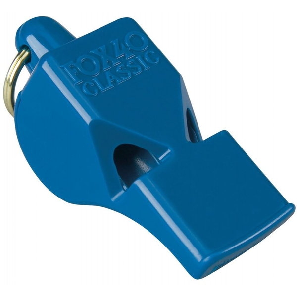 Fox 40 Classic Safety Whistle C/W Wrist-Lanyard Blue