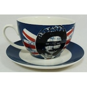Sex Pistols God Save the Queen Breakfast Cup & Saucer