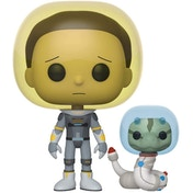 Space Suit Morty with Snake (Rick & Morty) Funko Pop! Vinyl Figure