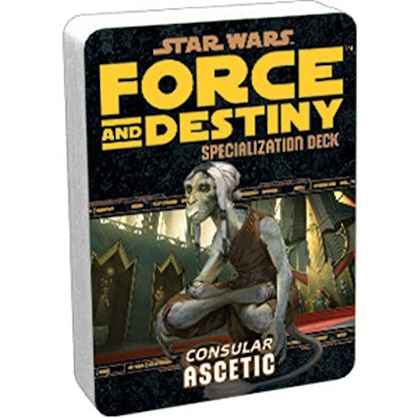 Star Wars Force and Destiny Ascetic Specilization Deck