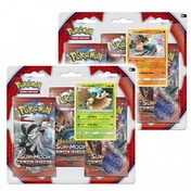 Pokemon TCG Sun & Moon: Crimson Invasion Triple Booster Pack