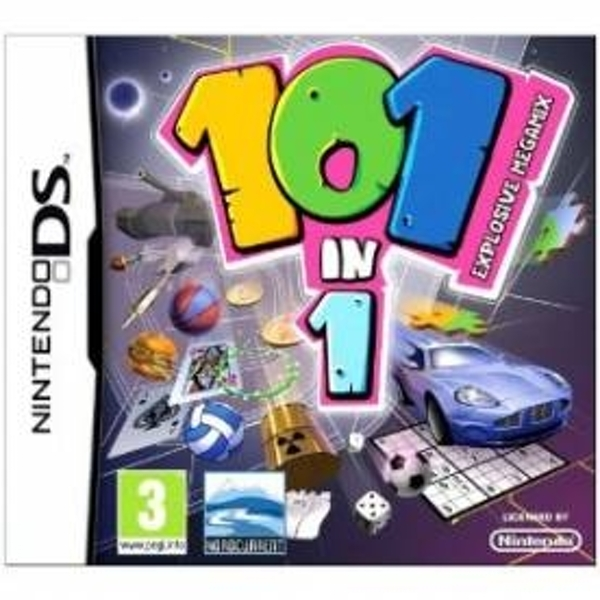 Ex-Display 101-In-1 Explosive Megamix Game DS Used - Like New