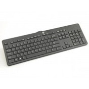 HP USB Slim Business Keyboard Wired UK Layout