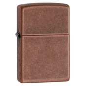 Zippo Unisex Antique Regular Copper Windproof Lighter