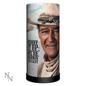 John Wayne Round Lamp UK Plug