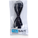 USB To Micro 0.8M USB Cable - Black - Image 2