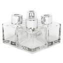 Set of 4 Glass Reed Oil Diffuser Bottles | M&W