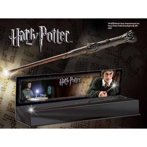 Harry Potters Illuminating Wand (Harry Potter) The Noble Collection Replica - Image 1