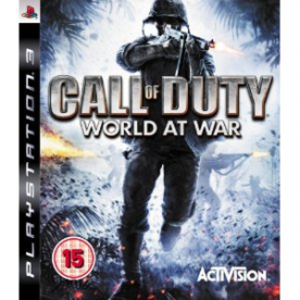 Call Of Duty 5 World At War Game PS3