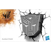 Autobot Shield 3D Deco Light (Transformers) by 3D Light FX