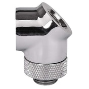 ThermalTake Pacific 45 Degree Rotary Fitting - Chrome