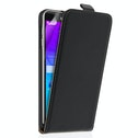 Samsung Galaxy Note 5 Real Leather Flip Case - Black