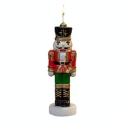 Christmas Nutcracker Soldier Novelty Candle