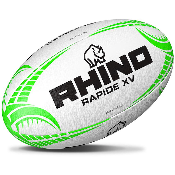 Rhino Rapide XV Rugby Ball - Size 4