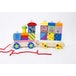 Mr Tumble Wooden Stacking Train Pull Along Toy - Image 2