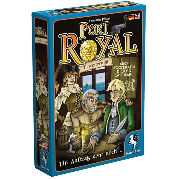 Port Royal Extra cards Expansion Board Game
