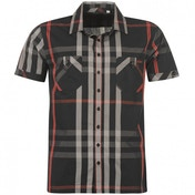 Lee Cooper Short Sleeved Check Shirt Large One Colour