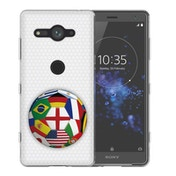 Sony Xperia XZ2 Compact Flags World Cup TPU Gel Case