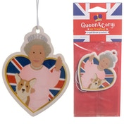 Royal Bloom Scented Queen and Corgi (Pack Of 6) Air Freshener