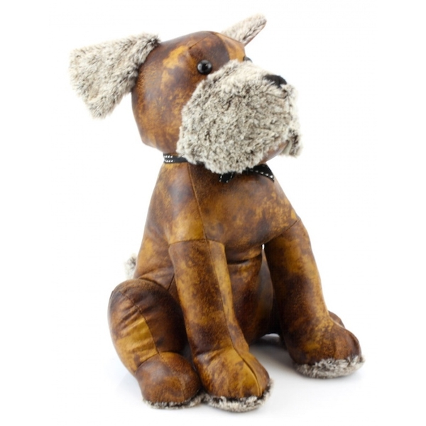 Faux Leather Doggy Doorstop By Lesser & Pavey