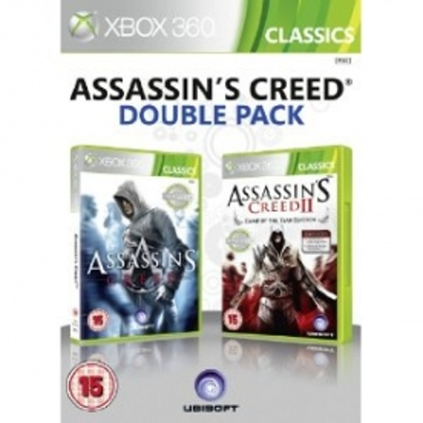 Ubisoft Double Pack Assassin's Creed 1 and 2 Xbox 360 Game