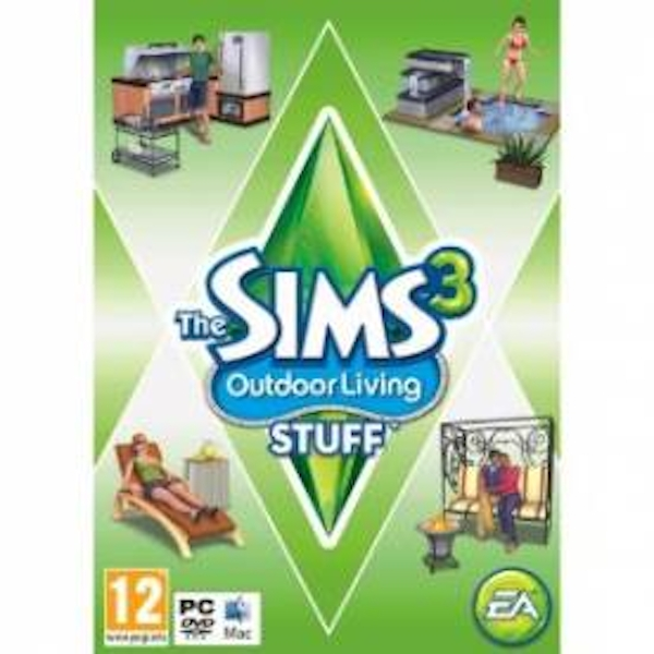 The Sims 3 Outdoor Living Stuff Expansion Pack Game PC & MAC