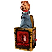 Chucky Scarred (Childs Play) Mezco Burst-A-Box