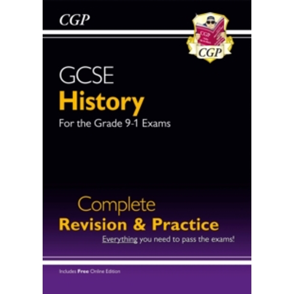 New GCSE History Complete Revision & Practice - For the Grade 9-1 Course (with Online Edition) by CGP Books (Paperback, 2016)