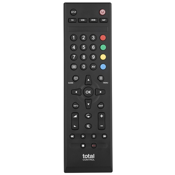 Total Control URC1745 Universal 4 in 1 Remote Control