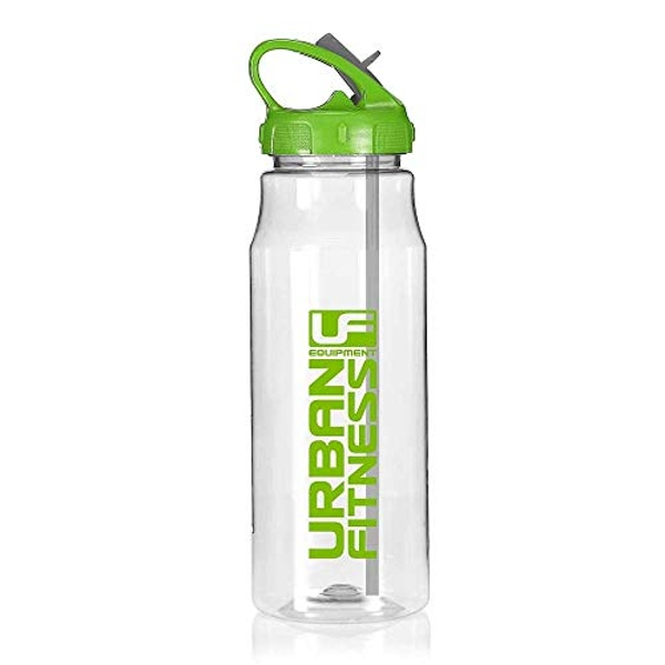 Urban Fitness Hydro Water Fitness Drink Bottle Clear/Green 700ml